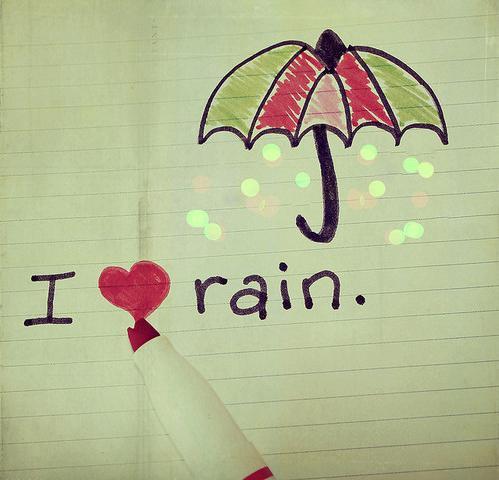 mencintai sang hujan sebuah catatan panjang